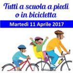 Logo tutti in bici o a piedi